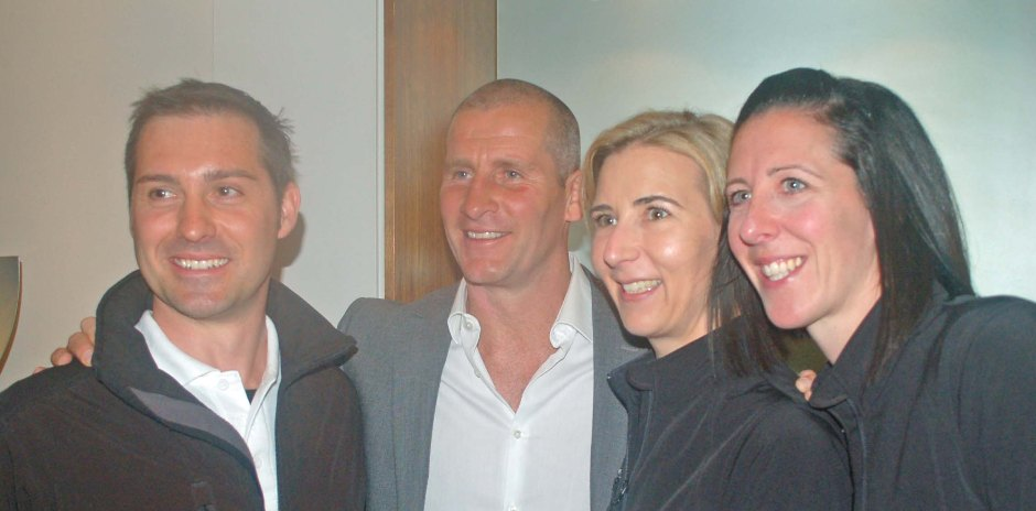 Our Team with England Rugby coach Stuart Lancaster cover image