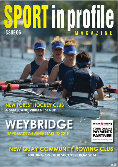Weybridge Rowing Club in Sport-in-Profile cover image