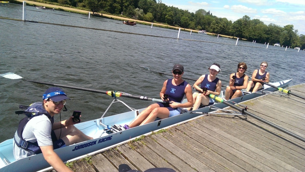 Gold for Weybridge at the Henley Masters Regatta cover image